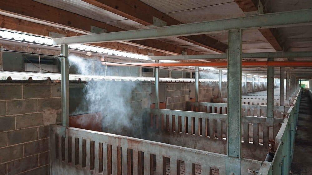 Nebbia Refrigeración Granaderia agricultura